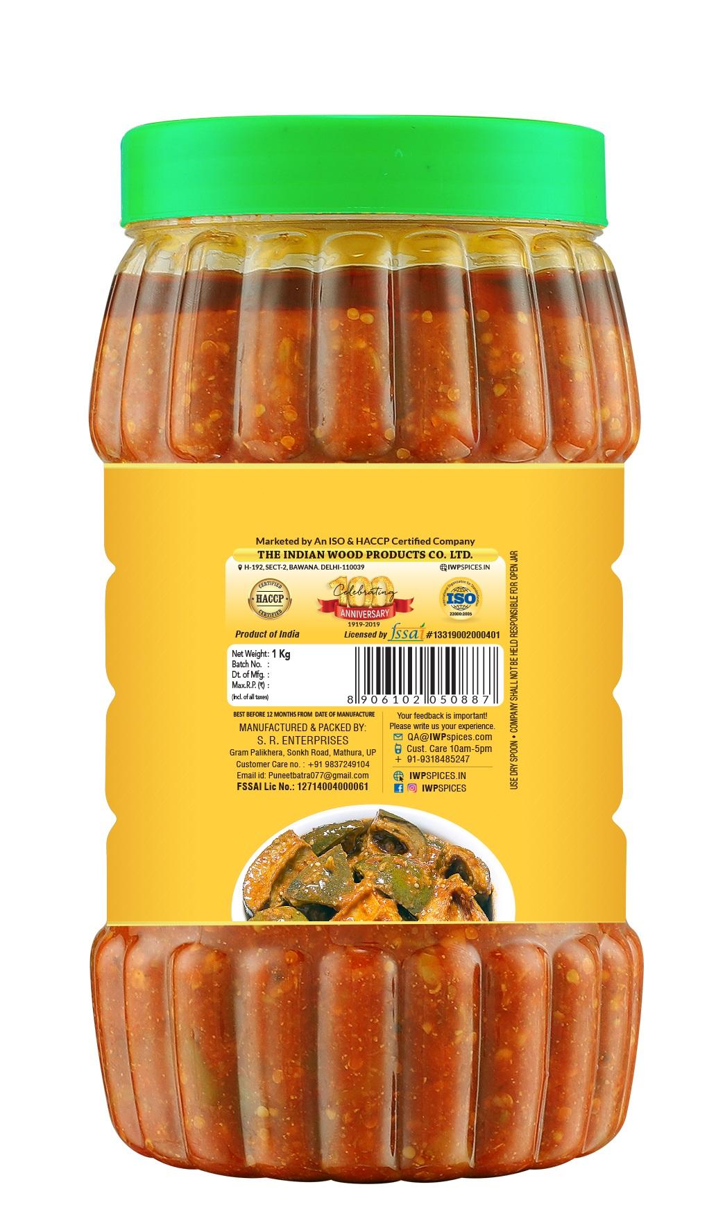 Mango Pickle title