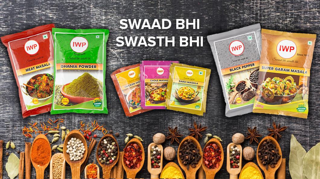 IWP Spices - Swaad bhi, Swasth Bhi